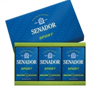 Estojo 3 Sabonetes Senador Sport
