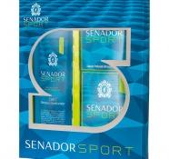 Estojo Senador Sport com Shampoo 2 em 1