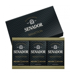 Estojo 3 Sabonetes Senador Seduction